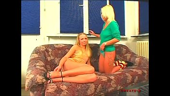 Two German Mature Tricked Young Friend of Daughter to 3Some