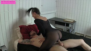 FEMDOM - Tied up and made to cum with ORGASM TORTURE