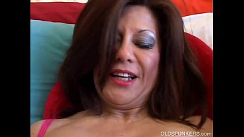 MOM Sexy lingerie surprise from big tits Latina MILF