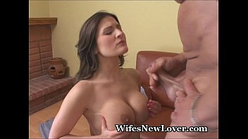 JanB's hubbie takes her to hotel to suck, fuck and rim a new BBC lover