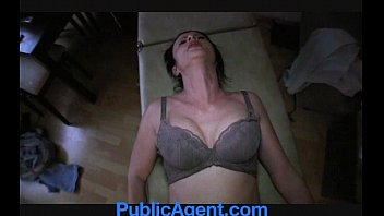 Public Agent Hot busty Romanian beauty fucked to orgasm for cash
