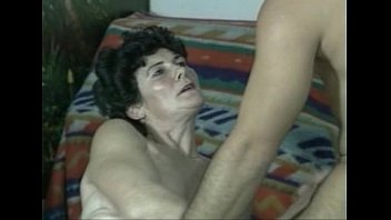 Horny 20 Year Old Loves Eating Hairy Granny Pussy!