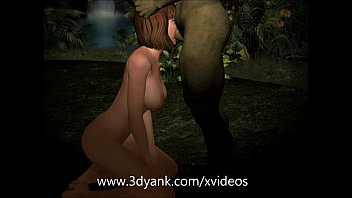 I got pregnant from a monster. Zombie fucks a girl hard | 3d monster porno