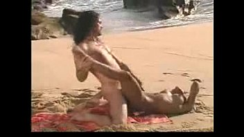 Extreme risk II pissing in public and anal sex on the beach People near!