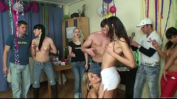 ORGY WITH NASTY ESCORTS AT MY BEST FRIENDS BIRTHDAY PARTY PART 2