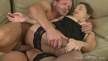 Hot Milf and Old Granny Share 1 Cock
