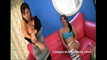 Young Lesbian Teen Seduces Mature Military Recruiter Into Some Lesbian Fun