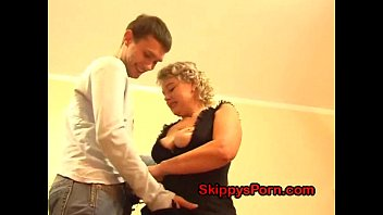 Hot blonde fucked her stepbrother